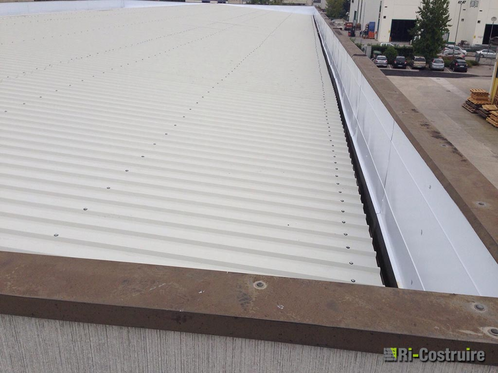 rifacimento tetto capannone