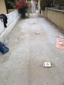 rifacimento area scoperta condominio padova